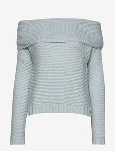 CAROLA - jumpers - ice blue knit