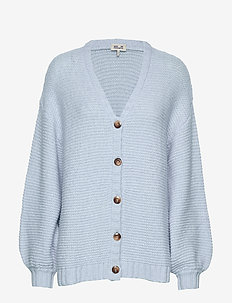 CHARMAINE - cardigans - ice blue knit