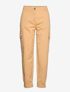 NAJAH - straight leg trousers - new wheat yellow