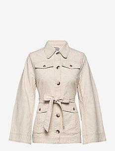 BIANNA - lette jakker - creamy beige