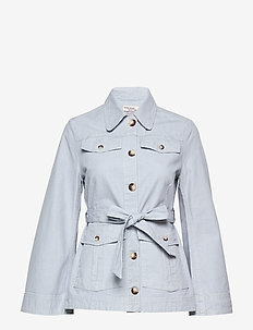 BIANNA - light jackets - eventide blue