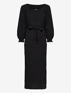 AMALIE - midi kjoler - black