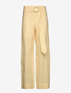 NIMUE - wide leg trousers - french vanilla