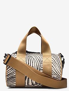 KABIRA - skuldervesker - black tiger shell