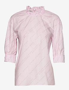 MEADOW - short-sleeved blouses - pink letmedance