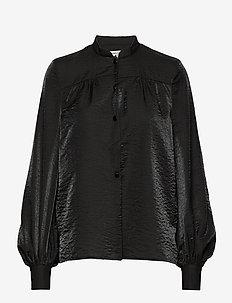 MALIN - long sleeved blouses - black