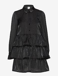 ANYA - shirt dresses - black