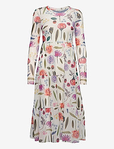 JOCELINA - robes midi - white hampton garden