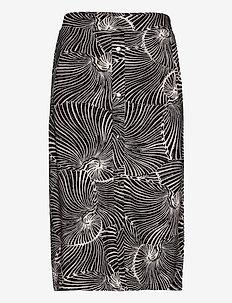 JEANNIE - midi skirts - reverse tiger shell
