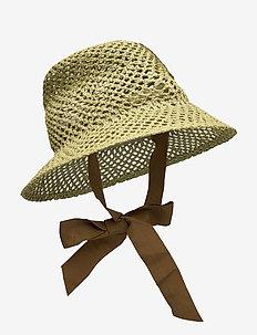 LIZA - hoeden - mosstone green