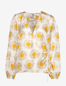 MANNON - long sleeved blouses - apricot anemone