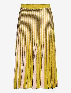 CYRILLA - midinederdele - yellowvanillalurex