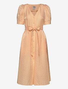 ALMA - midi kjoler - apricot sherbet