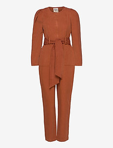 NORALEE - jumpsuits - rusty brown