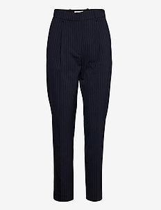 NOVELLA - pantalons slim fit - navy pinstripe