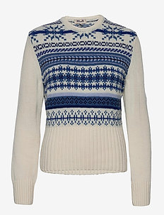 CIARINA - trøjer - faroe blue