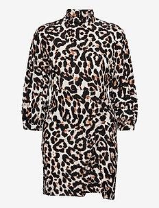 AALIAH - korte jurken - wild leo