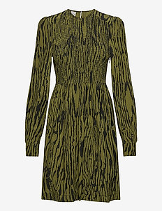 AVALEIGH - robes midi - olive wood