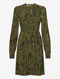 AVALEIGH - sukienki do kolan i midi - olive wood