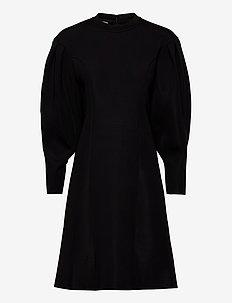 JOHANNA - midi jurken - black