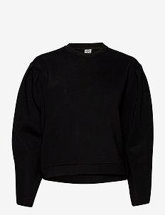 JAMEELA - blouses med lange mouwen - black