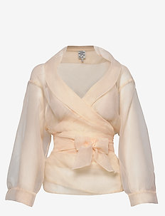 MILOU - long sleeved blouses - alesan peach
