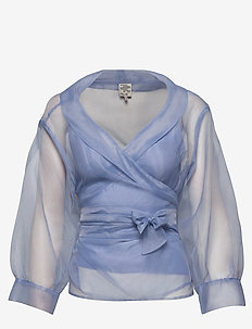 MILOU - long sleeved blouses - eventide blue