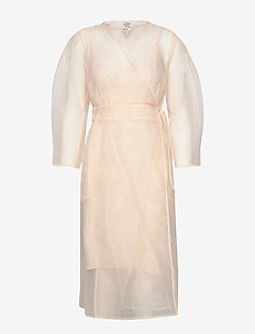 ABYLENE - robes portefeuille - alesan peach
