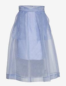 SASHENKA - midi skirts - eventide blue