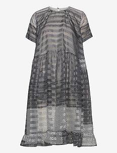 ARIA - midi kjoler - polkadotgradient
