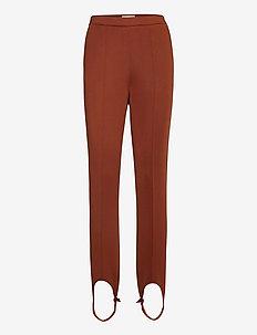 JAOLA - pantalons slim - rusty brown