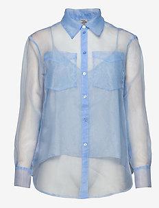 MINTY - bluzki z długimi rękawami - grapemist blue