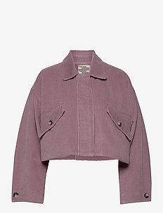 BINTU - lette jakker - lavender fog