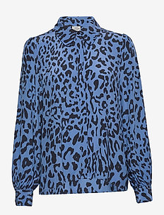 MAFALDA - long sleeved blouses - provence blue leo