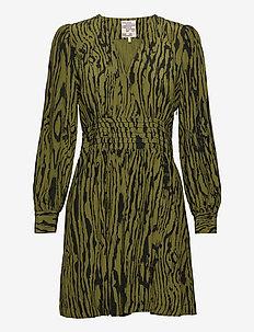 ASTRELLA - short dresses - olive wood