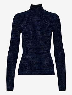 COLAINE - jumpers - melange blue