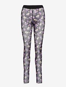 JAZZLYN - rajstopy - paris flower purple