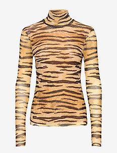 JODI - long-sleeved tops - naturel tiger