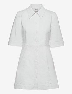 ABERA - sommerkjoler - bright white
