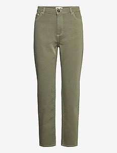 NANCY - boyfriend jeans - winter moss green