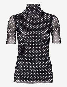 JILIANNE - t-shirt & tops - black bp dot