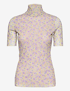 JILIANNE - t-shirt & tops - grey ditzy floral