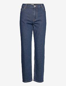 NANCY - straight jeans - dark blue