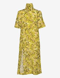 ANGIE - sommerkjoler - yellow hydrangea
