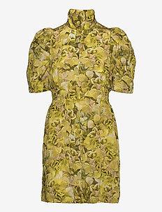 AVANY - sommerkjoler - yellow hydrangea