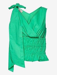 MICH - Ærmeløse bluser - gumdrop green
