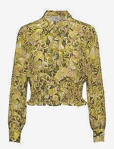 MAEKO - langærmede skjorter - yellow hydrangea