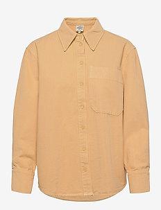 MAHIN - overshirts - apricot cream