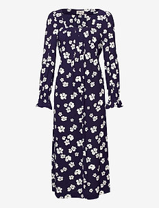 ASAYO - hverdagskjoler - patriot blue floral