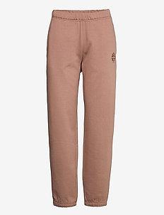 JEANTELLE - sweatpants - brownie